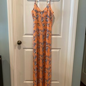 NWT Parisian yellow floral maxi dress